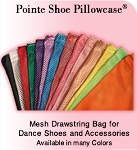 POINTE SHOE PILLOWCASE