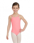 CAMISOLE LEOTARD WITH ADJUSTABLE STRAPS - GIRLS TB1420C