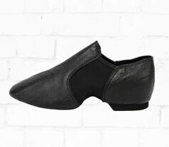 Leather Slip On Jazz Shoes D004716